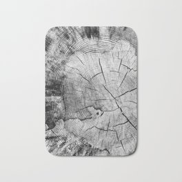 sawed tree texture Bath Mat
