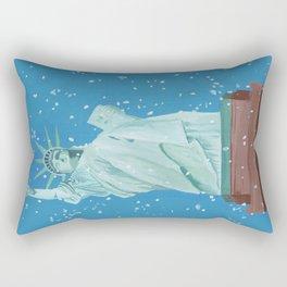 The Statue of Liberty Rectangular Pillow