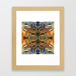 Taino Abstractions - Cemi Lama  Framed Art Print