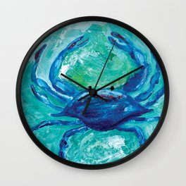 Oh Crab! Wall Clock