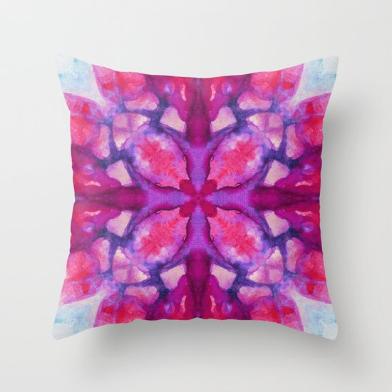 Open Throw Pillow