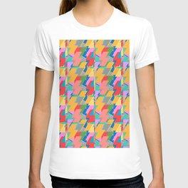 Peach Flash Pattern  T-shirt