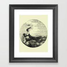 Contour 02 Framed Art Print