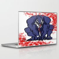 venom Laptop & iPad Skins featuring Venom by Iron King