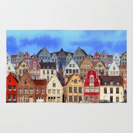 House, Bruges, Belgium Rug