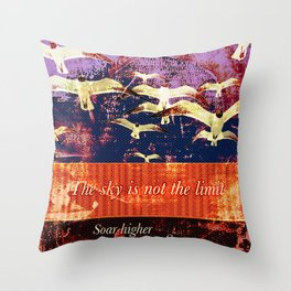 Soar On Throw Pillow
