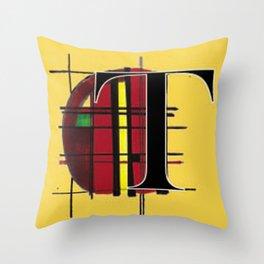 T-Scott Throw Pillow