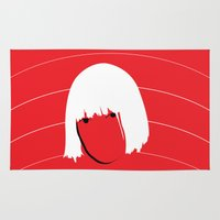 sia Area & Throw Rugs featuring Girls Like Sia  by Smudgey Paw