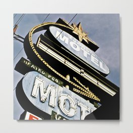 Old Lyndy's Motel Metal Print