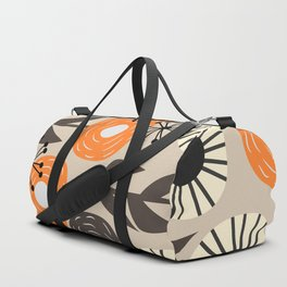 Some happy flowers Duffle Bag