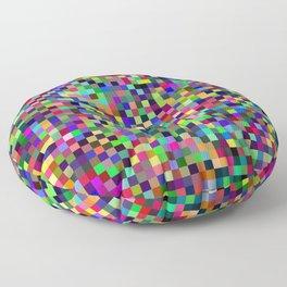 Pixel Print Floor Pillow