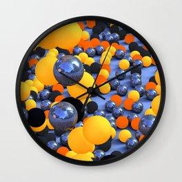 Bubblish Wall Clock
