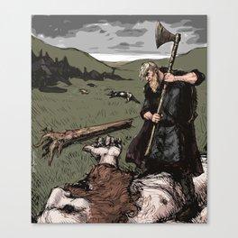 Giant Slayer Canvas Print