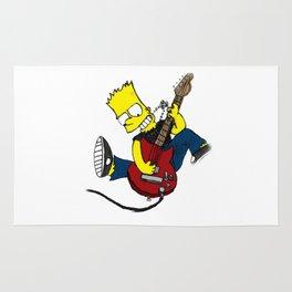 rocksatars simpson guitar Rug
