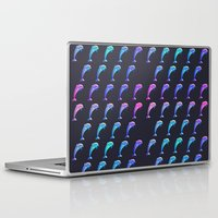dolphin Laptop & iPad Skins featuring Dolphin. by Daniel Montero