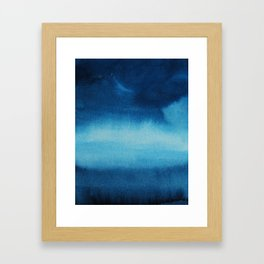 Indigo Ocean Dreams Framed Art Print