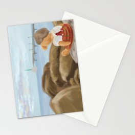 Art on the Rocks Stationery Cards