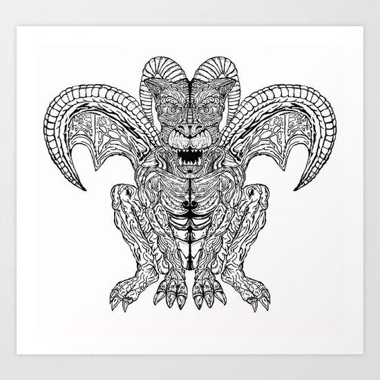 Diabolus Art Print