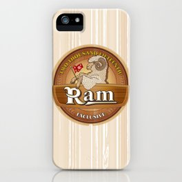 Exclusive the Ram TWO THOUSAND FIFTEENTH iPhone Case