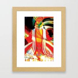 kathakali Framed Art Print