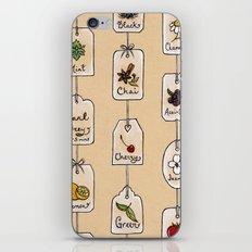 Tea Tag Time iPhone & iPod Skin