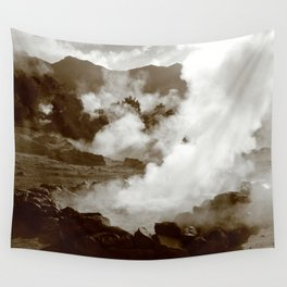 Sleeping volcano Wall Tapestry
