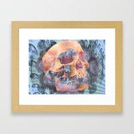 Death of a Galaxy Framed Art Print