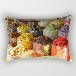 Dubai Creek Spices Rectangular Pillow
