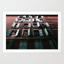 Open Windows Art Print