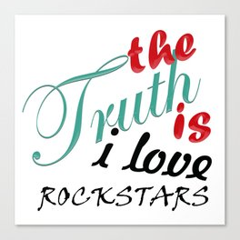 The Truth is... Canvas Print