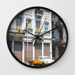 Old city II Wall Clock
