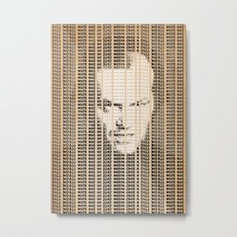 All work and no play makes Jack a dull boy Metal Print