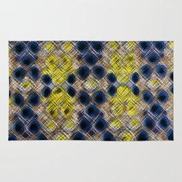Blue Gold Heritage Rug