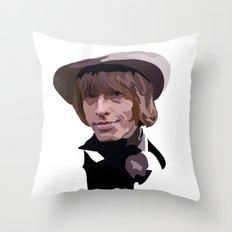 Brian Jones Throw Pillow
