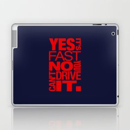 Yes it's fast No you can't drive it v5 HQvector Laptop & iPad Skin