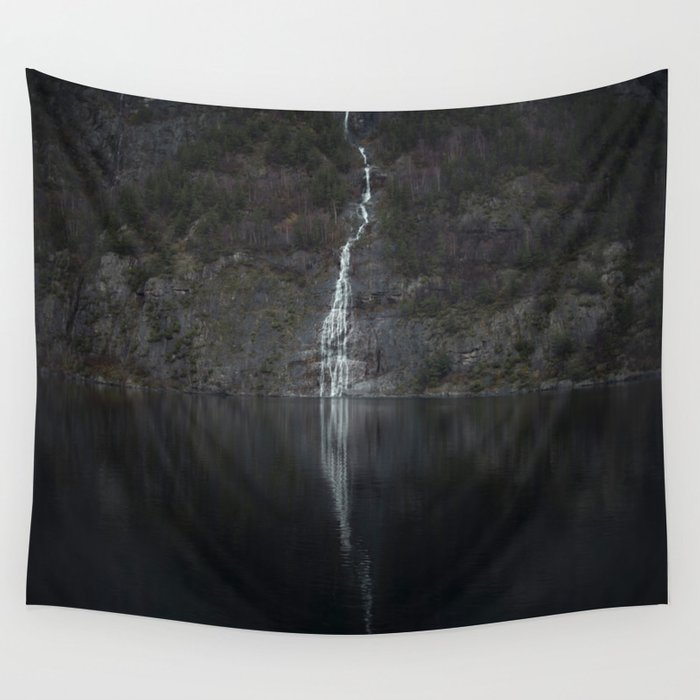 Waterfall (The Unknown) Wall Tapestry