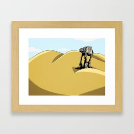 Jakku Prepeeration Framed Art Print