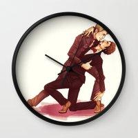 dancing Wall Clocks featuring DANCING by FISHNONES