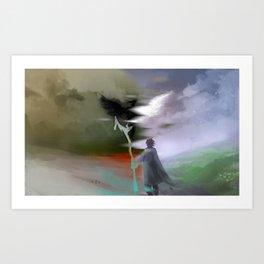 Distorted Reality Art Print