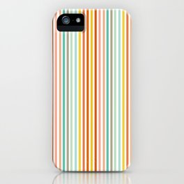 Striped Up iPhone Case