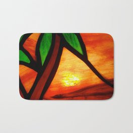 West Coast Sunset Bath Mat