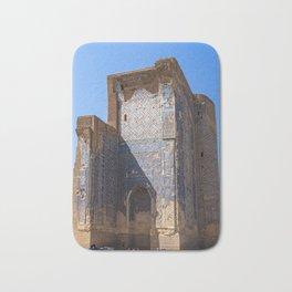 Ruins of Ak-Saray Palace - Shakhrisabz, Uzbekistan Bath Mat