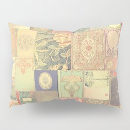 Dream with Books - Love of Reading Bookshelf Collage Pillow Sham