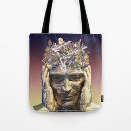 Music Head Tote Bag
