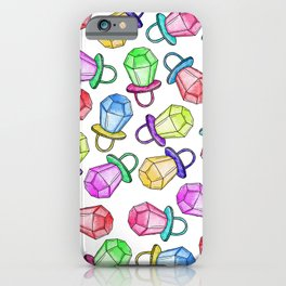 Retro 80's 90's Neon Colorful Ring Candy Pop iPhone Case