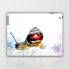 Fractal Snail Laptop & iPad Skin