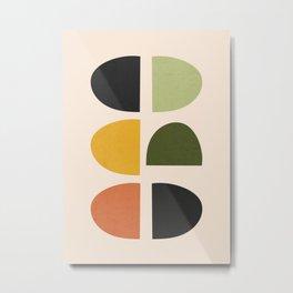 Abstract Shapes 42 Metal Print
