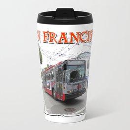 San Francisco Fillmore Street Travel Mug