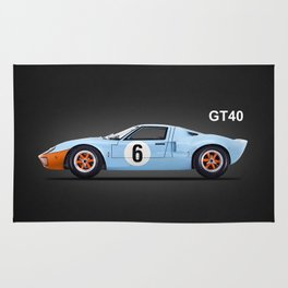 The GT40 Rug