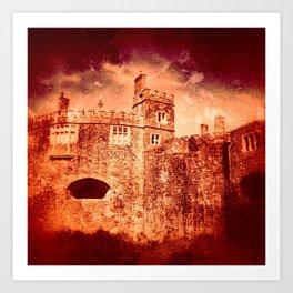 Walmer Castle Art Print